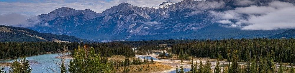 Panoramic view Alberta