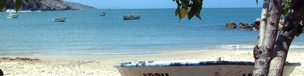 Beach scene Venezuela