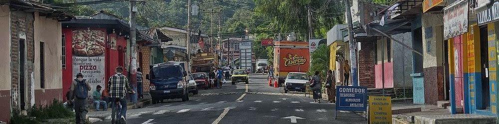 High Street in El Salvador