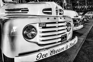 Vintage car auction