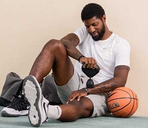 PaulGeorge seated with basketball