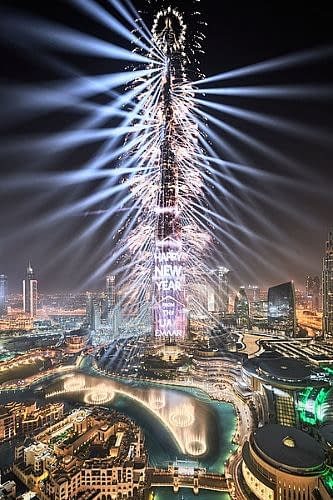 Dubai Making Special 2021 New Year's Eve Display