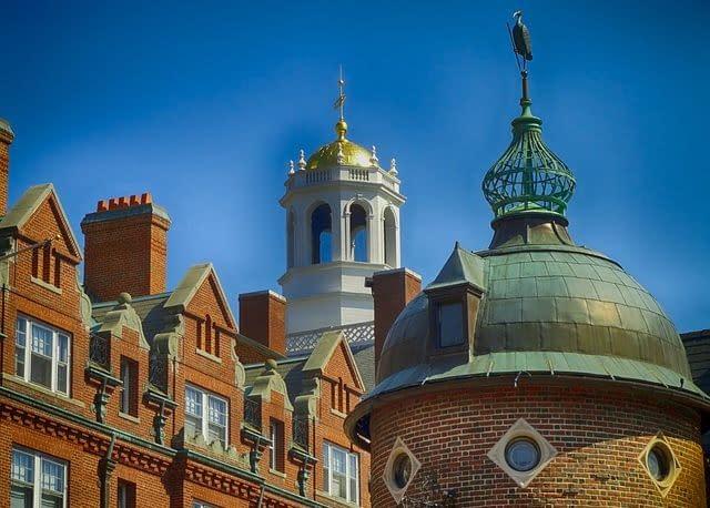 View of Harvard University
