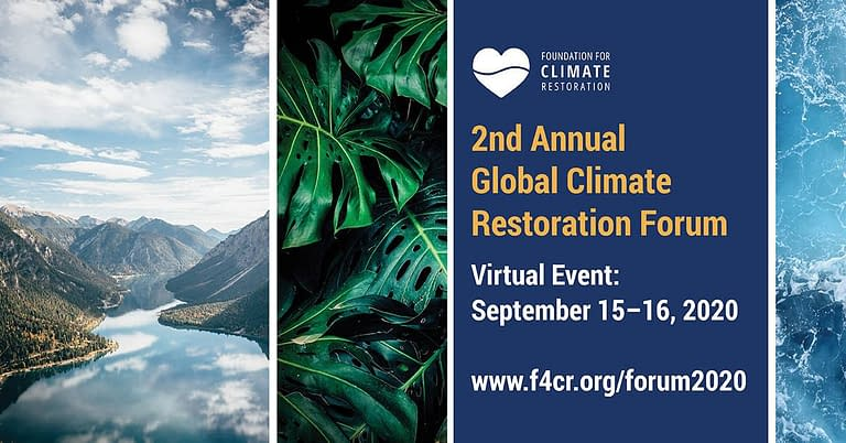 2nd Annual Global Climate Restoration Forum
