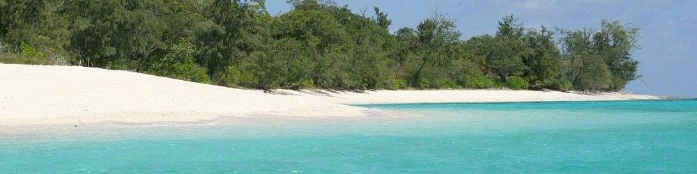 Beautiful beach and lagoon in Timor-Leste