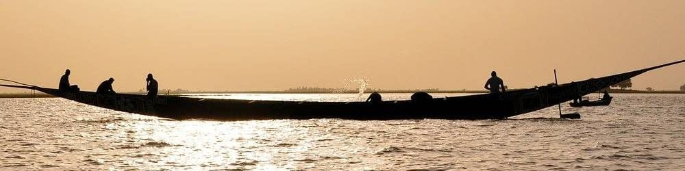 Boat on the Niger River