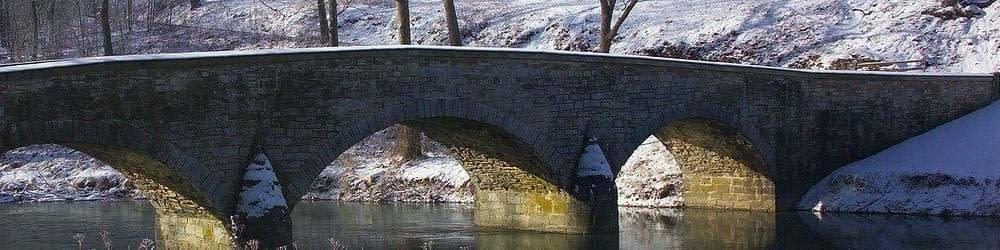 Burnside Bridge in Antietam Maryland