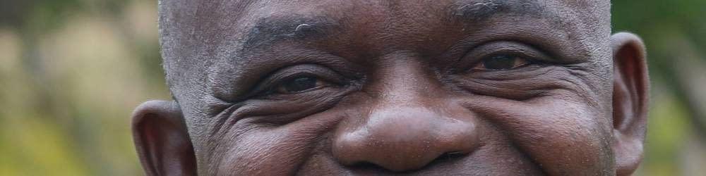 Liberian males eyes up close