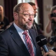 Breaking National and international news. Martin Schulz Bloomberg interview.
