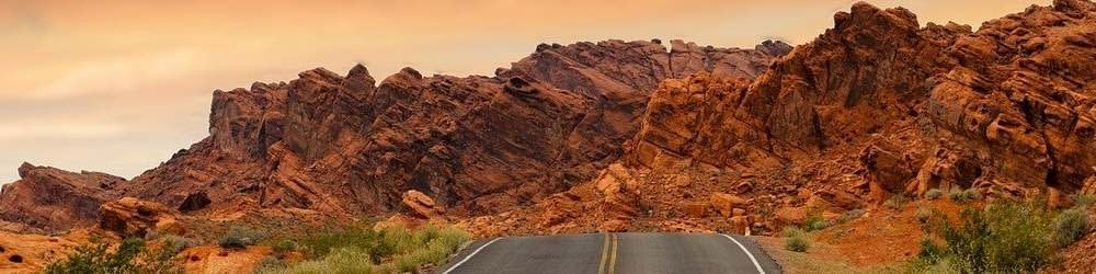 Red Rock formation in Navada