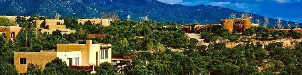 View of Santa Fe, New Mexico