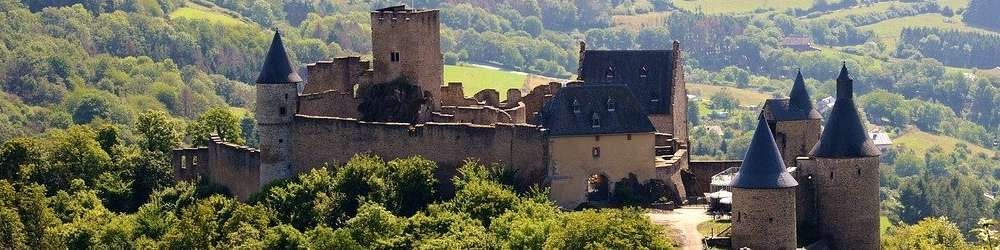 View of a Castle in Luxembourg