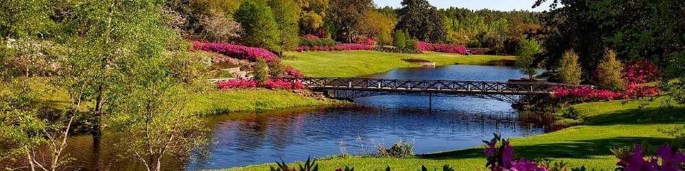 View of Bellingrath Gardens, Alabama
