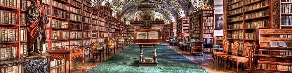 Prague library